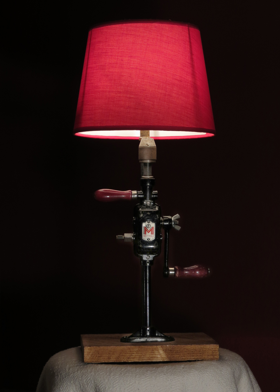 Breast Drill Table Lamp Rekindled Lighting