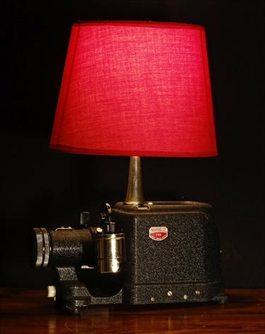 Vintage Slide Projector Table Lamp Rekindled Lighting