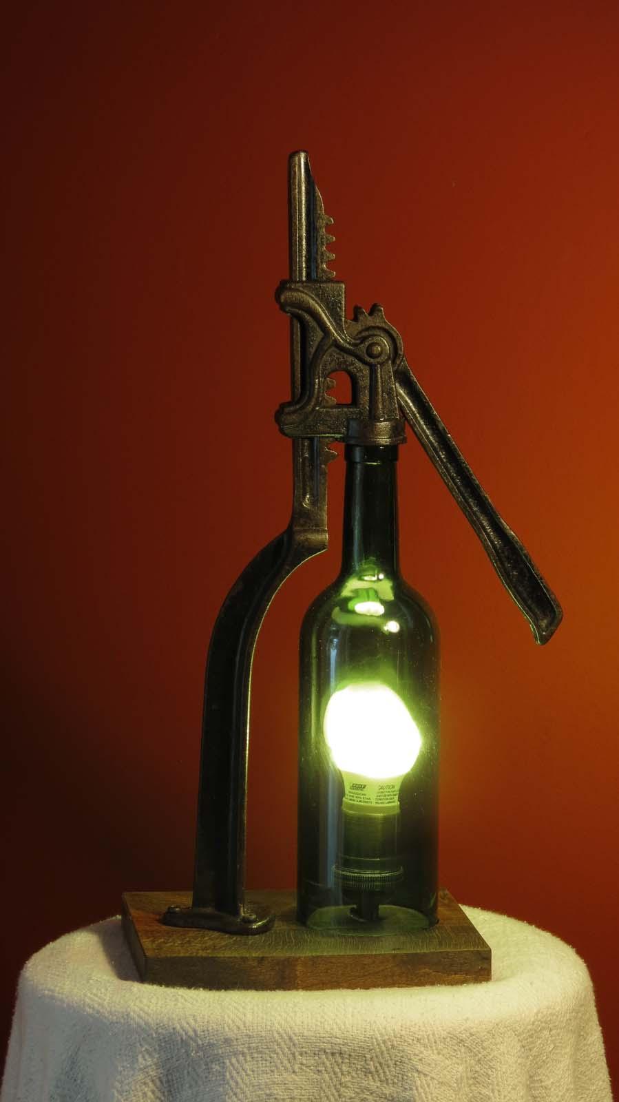 Vintage Bottle Capper Lamp WEBBottleCapper